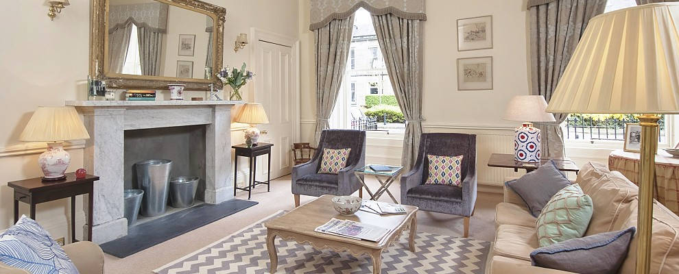 Bellevue Terrace Sitting Room