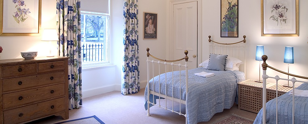 Bellevue Terrace Twin Bedroom