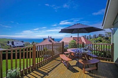 Holiday house in Portpatrick with sea views