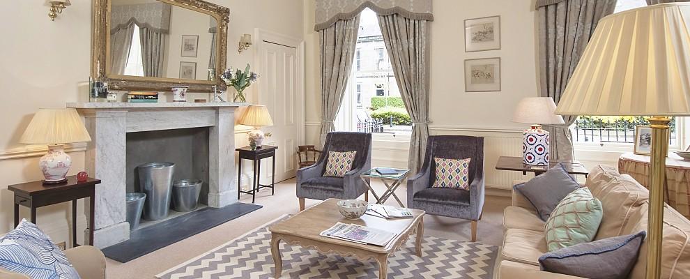 Bellevue Terrace Sitting Room