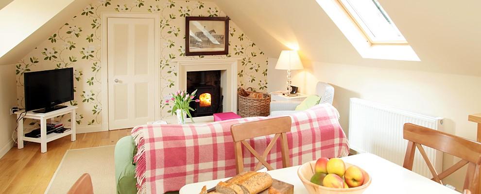 Stables Cottage Kitchen Sitting Room