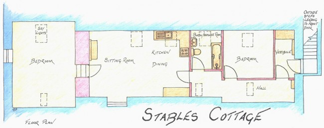 stables cottage plans
